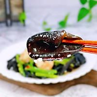 #带着美食去踏青#虾仁芹菜炒木耳的做法图解17