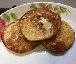 香蕉糯米饼(蛋白粉消耗)的做法