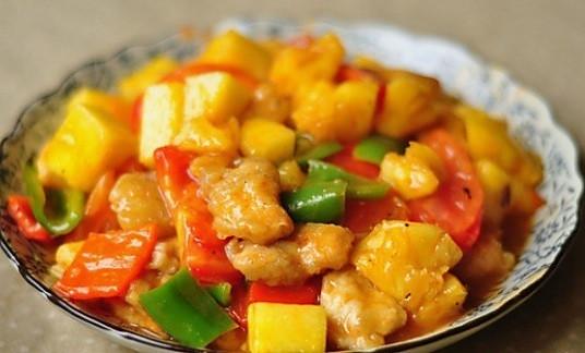 私房菜—菠萝咕咾肉