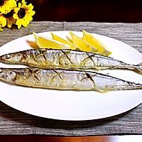 日式盐烤秋刀鱼的做法图解7