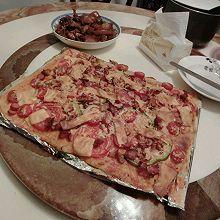 雞肉蘑菇披薩