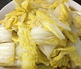 简单易行酸辣大白菜的做法