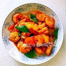菠萝古老虾