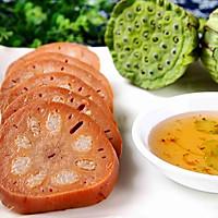 桂花蜜汁藕