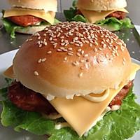 奥尔良烤鸡腿堡(附超软汉堡坯做法)的做法图解6