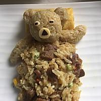 #咖喱萌太奇#小熊咖喱牛肉蛋包饭的做法图解12