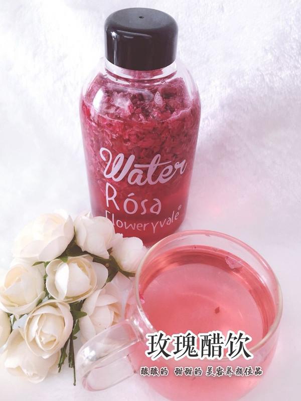 自制玫瑰醋