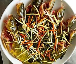 两步搞定简单又美味的菜一一清蒸黄骨鱼的做法
