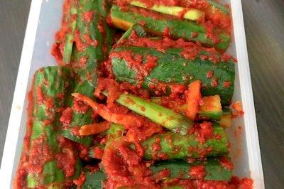 韩式腌制黄瓜