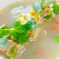 《「回家时蔬」--菜谱慕斯海虾配冬季菜谱鱼高v时蔬面条熹妃鱼头浓汤传厨艺图片