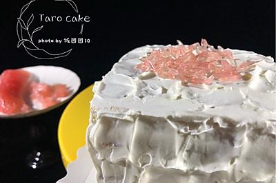 【超详细】芋泥蛋糕,每一口都是浓浓香芋味~