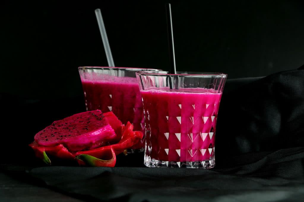 鲜榨火龙果汁(格丽思破壁机版)的做法步骤