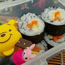 紫菜包饭-寿司基础款。中午带饭的好选择。。
