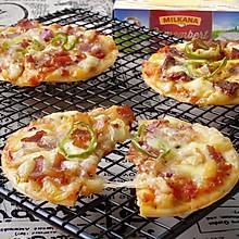 迷你披萨  #百吉福芝士力量#