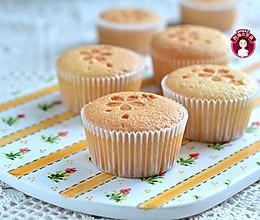 海绵印花杯子蛋糕的做法