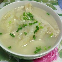 鱼汤面疙瘩汤