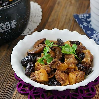 香菇炖肉(炖)