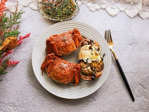 #肉食者联盟#清蒸大闸蟹的做法