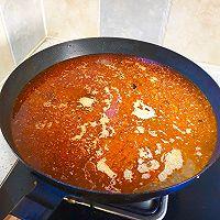 #冬天就要吃火锅#家庭自助羊蝎子火锅的做法图解8