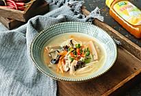 #太太乐鲜鸡汁玩转健康快手菜#低脂鲜辣汤的做法