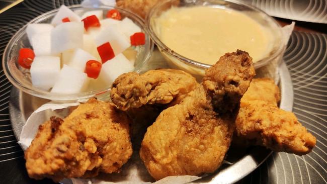 不裹酱就是KFC吮指原味鸡的韩式炸鸡(附赠两种酱制作)的做法