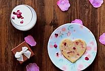 情意绵绵-玫瑰奶香饼的做法