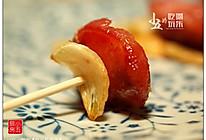 蒜片煎香肠的做法