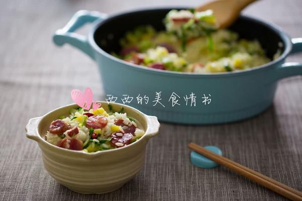 #西西的美食情书#上海菜饭(铸铁锅版)的做法