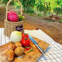 来看看米妈妈在火龙果园里做了什么好吃的的做法图解9