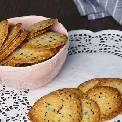 【超健康简易的芝麻香脆饼】——COUSS CO-8501出品