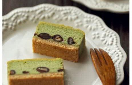 抹茶红豆芝士蛋糕的做法