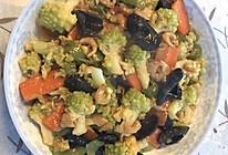 海米宝塔花菜的做法