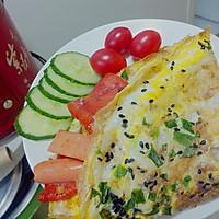 十分钟快手营养早餐——鸡蛋饼(原创)的做法图解11