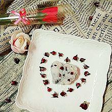 玫瑰蜜豆山药糕