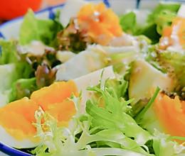 #321沙拉日#鸡蛋蔬菜沙拉的做法