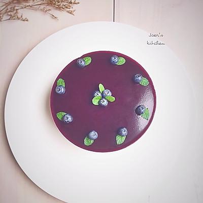 蓝莓巧克力乳酪慕斯—夏天的蛋糕
