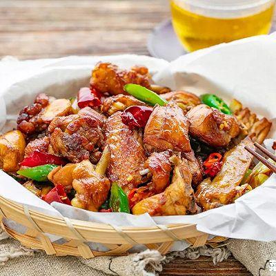 干煸鸡|皮酥肉嫩