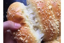 奶香酥粒糯米排包(一次性发酵的做法
