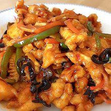 下饭菜:鱼香鸡丝
