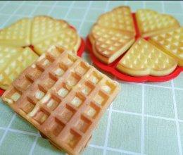 一学就会的快手早餐之华夫饼的做法