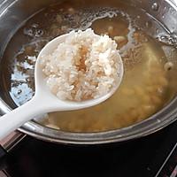 黄豆瘦肉粥——冬季暖身的做法图解6
