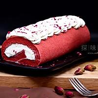 【红丝绒蛋糕卷】——COUSS CO-537A智能烤箱出品