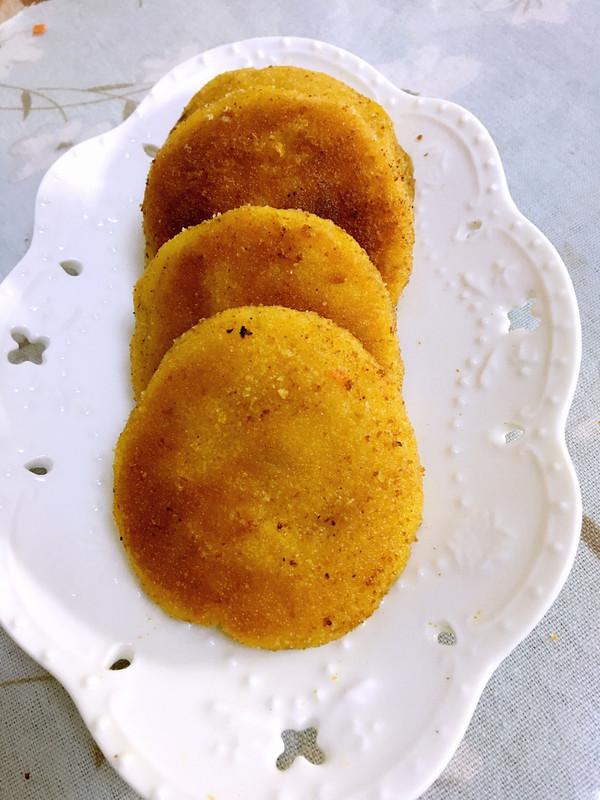 香酥南瓜香芋饼的做法
