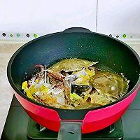 #合理膳食 营养健康进家庭#红烧梭子蟹的做法图解6