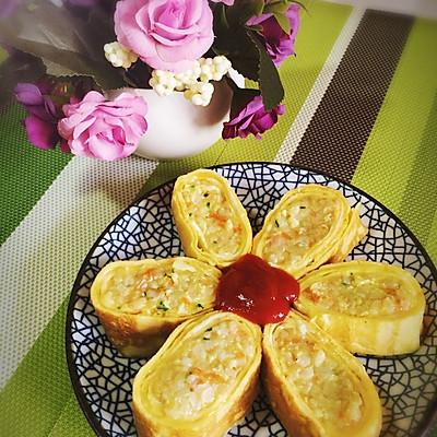 日式蛋包饭卷