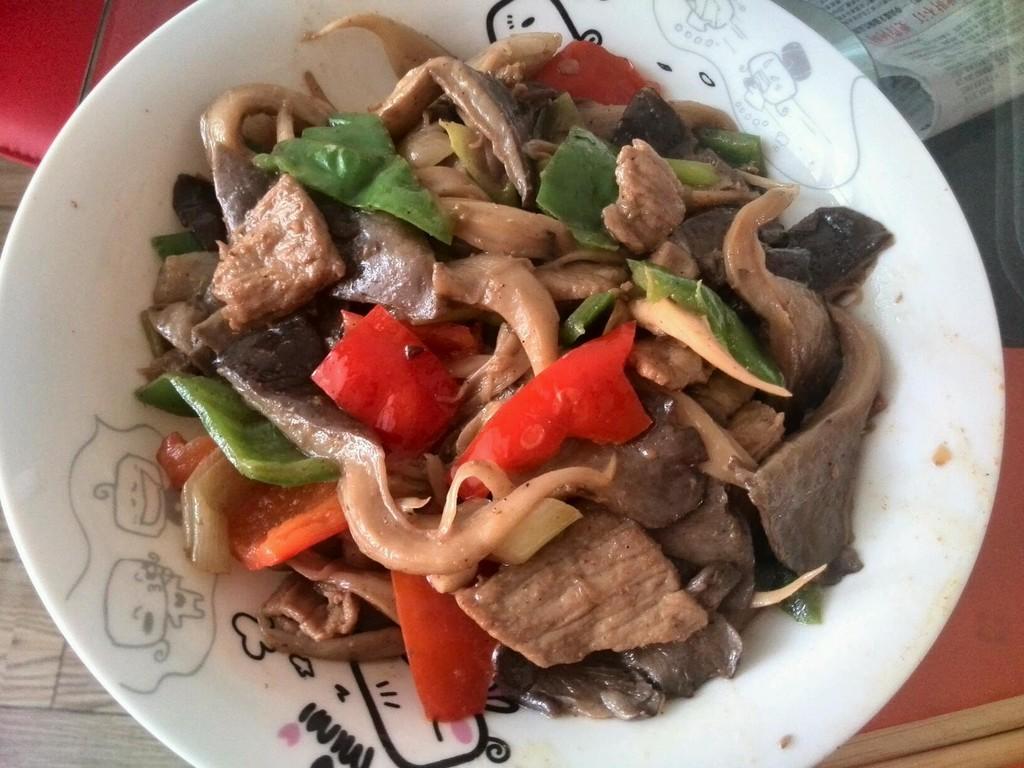 家常炒肉的平菇图解7做法炖羊腿肉怎么做好吃图片