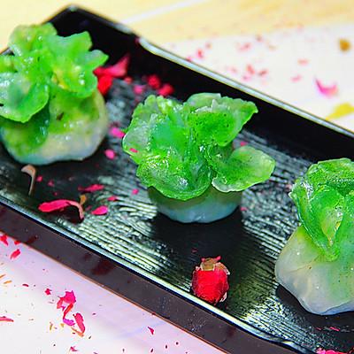 水晶白菜蒸饺