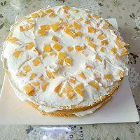 唯美芒果蛋糕#520,美食撩动TA的心!#的做法图解11