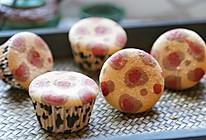 时尚豹纹杯子蛋糕#我的烘焙不将就#的做法