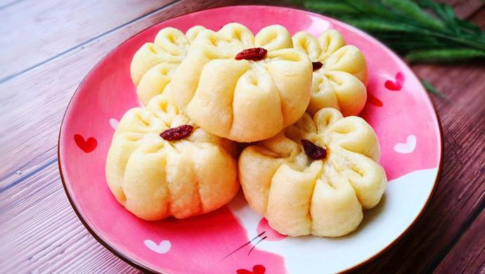 #秋天怎么吃#豆沙包
